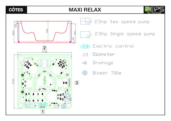 SPA-PEIPS-dimensions-MAXI-RELAX