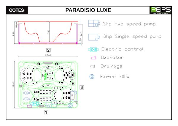 SPA-PEIPS-dimensions-PARADISIO-LUXE