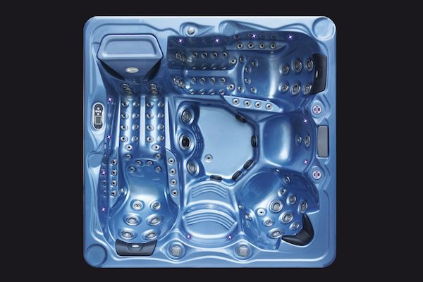 SPA-PEIPS-prestige-MAJESTIC-DUO-bleu-vue-de-dessus